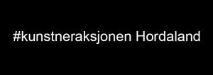 #kunstneraksjonen Hordaland